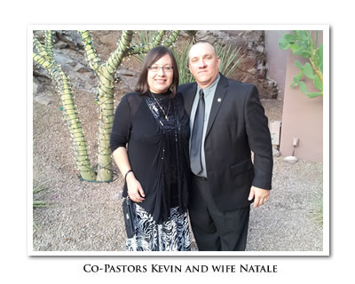 Co-Pastors Kevin and Natale Lamb