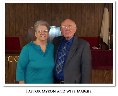 Pastor Myron and wife Margie
